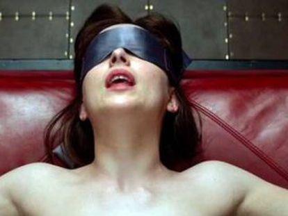 Dakota Johnson, en '50 sombras de Grey'