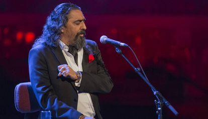 El Cigala, en el Palau de la Música, el pasado noviembre.