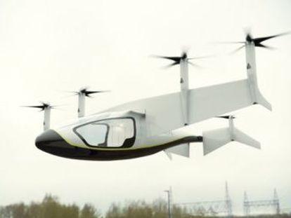 Rolls-Royce presenta un híbrido entre dron y coche que podrá transportar hasta cinco personas