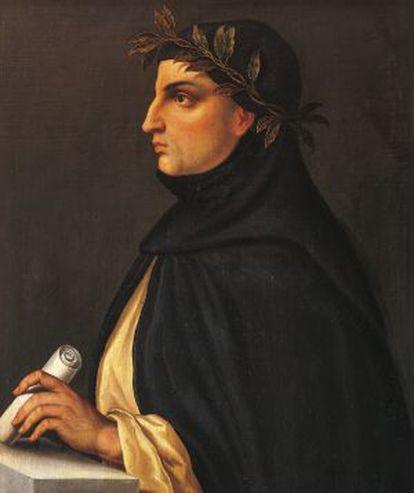 El escritor italiano Giovanni Boccaccio (1313-1375).