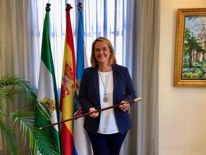 La alcaldesa de Motril, Luisa García Chamorro, en una imagen de archivo.