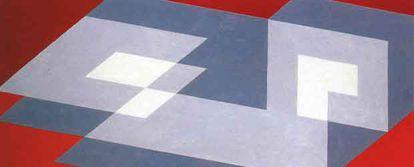'Tenayuca' (1943), de Josef Albers, perteneciente al San Francisco Museum of Art.