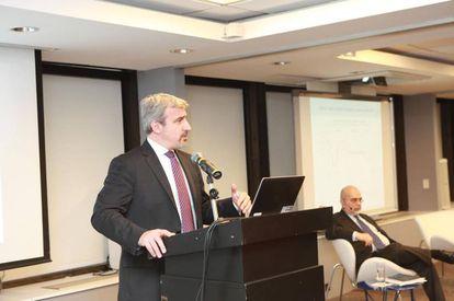 Paolo Giordano presenta en Buenos Aires el Monitor de Comercio e Integración del BID.