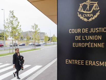 La sede del TJUE en Luxemburgo, en una imagen de archivo.
