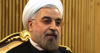 El presidente iraní, en Teherán.