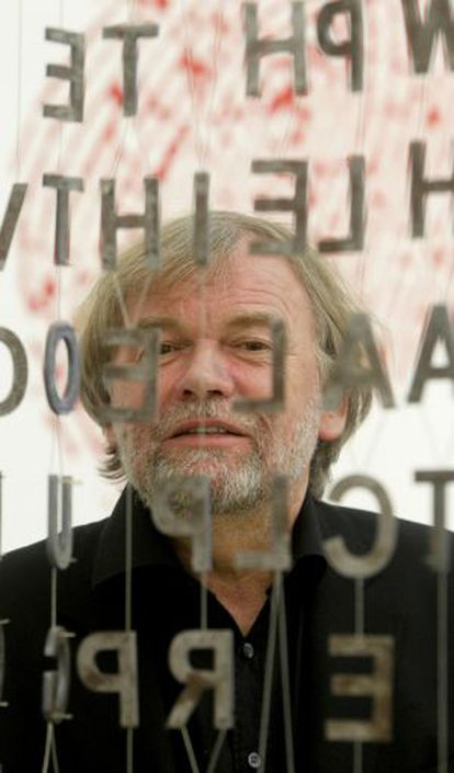 Jostein Gaarder en la Casa del Lector, en el Matadero de Madrid