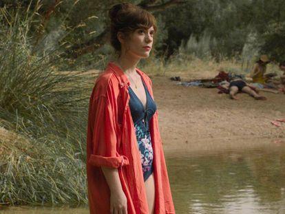 Itsaso Arana en una escena de 'La Virgen de Agosto'