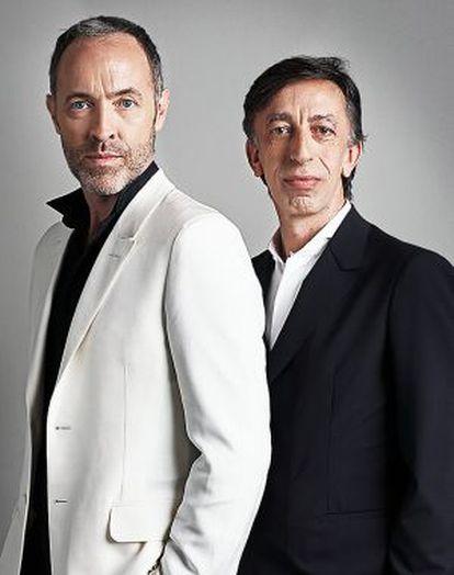 Miguel del Arco (izquierda) y Aitor Tejada son el alma de Kamikaze Producciones.