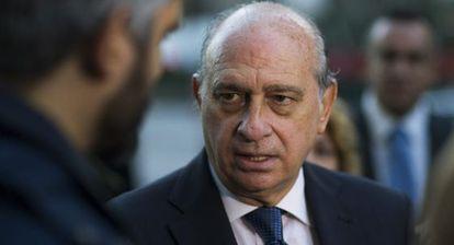 El ministro del Interior, Jorge Fernández Díaz, en un momento de su visita a Nueva York.