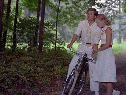 Fotograma de la película 'El jardín de los Finzi-Contini'.