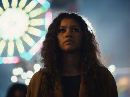 Zendaya, protagonista de la serie 'Euphoria' de HBO.