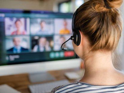 Las reuniones por videollamada perpetúan las dificultades de las mujeres para ser escuchadas