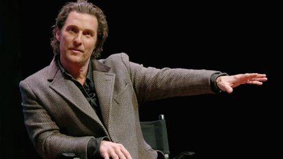 El actor Matthew McConaughey.