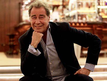 John Lack, en Bilbao, en el transcurso de la entrevista con EL PAÍS.