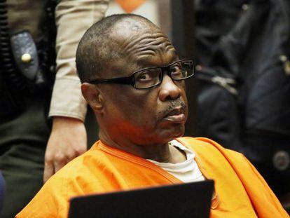 Lonnie Franklin en una vista judicial en 2016 en Los Ángeles.