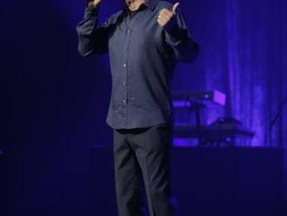 Jose Luis Perales, en el concierto en el Teatro Real.