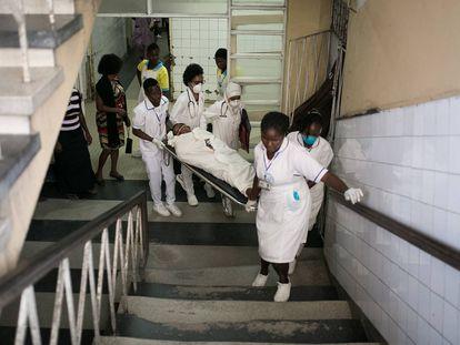 La carencia crónica de la sanidad de Mozambique