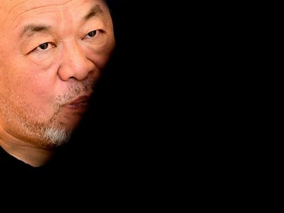 Ai Weiwei durante la presentación de 'Coronation' en Berlín en septiembre.