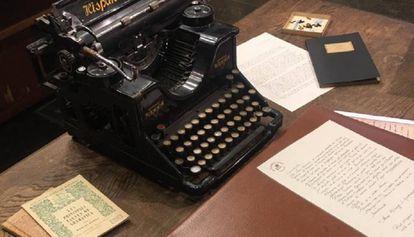 Una imagen de la simulación del despacho del Maestro Fabra realizada para el juego de escape.