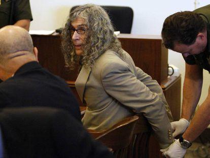 El asesino múltiple Rodney Alcalá, en una vista judicial en 2010 en Santa Ana (California).