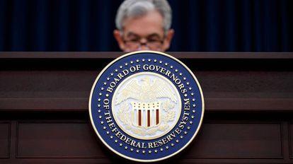 El presidente de la Reserva Federal. Jerome Powell