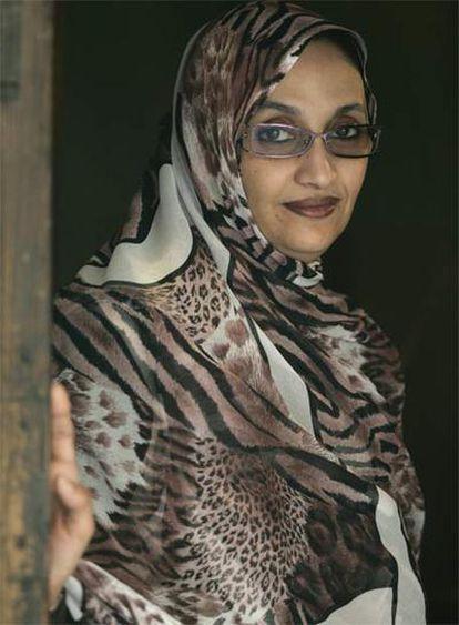 Haidar ha sido detenida en el aeropuerto de El Aaiún cuando regresaba de EE UU de recibir un premio