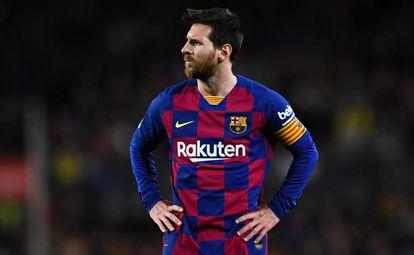 Messi, ante el Levante.