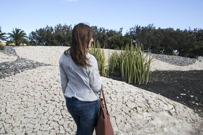 Mujer inseminada equivocadamente. Parque Los Alisios, Vecindario.