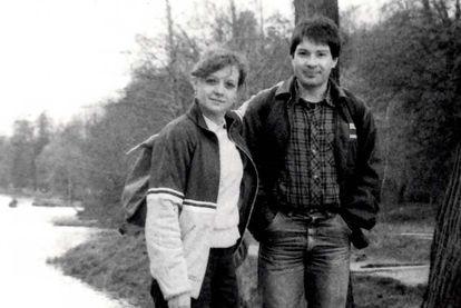 Elena Vavilova y Andréi Bezrúkov, en Moscú en la época de su entrenamiento en el KGB.