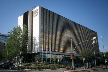 Sede de Nestlé en España, ubicada en Esplugues de Llobregat (Barcelona).