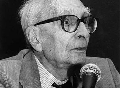 Claude Lévi-Strauss en una imagen de archivo