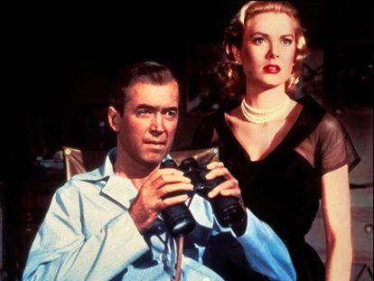 James Stewart y Grace Kelly en 'La ventana indiscreta'  (1954).
