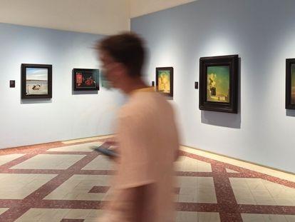 Cinco de las obras de Salvador Dalí que pueden verse en la exposición '¡El surrealismo soy yo!' del Museo Dalí de Figueres.