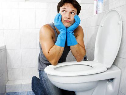 Así se limpia un inodoro rápido y sin riesgo