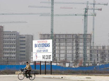 Promoción de pisos en Zabalgana, Vitoria