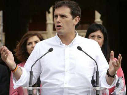 Ciudadanos reitera su oposición a la continuidad del líder del PP en el Gobierno