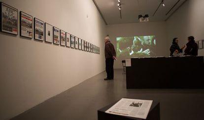 La instalación de Daniela Ortiz en el Arts Santa Mònica.