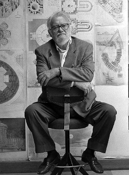 Fernando Higueras, en 1997.