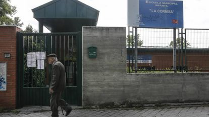 Escuela Infantil La Cornisa, en el barrio de Almendrales del distrito de Usera.