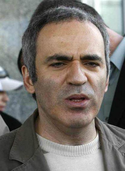 Gary Kaspárov.