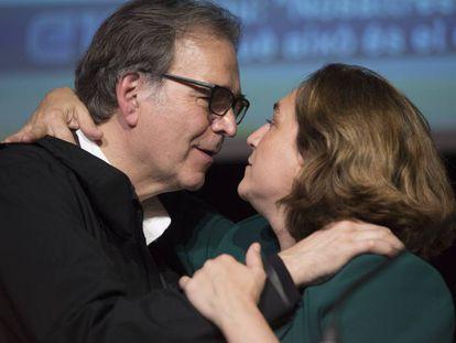 Ada Colau y Joan Subirats
