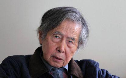 Alberto Fujimori, en una fotografía reciente.