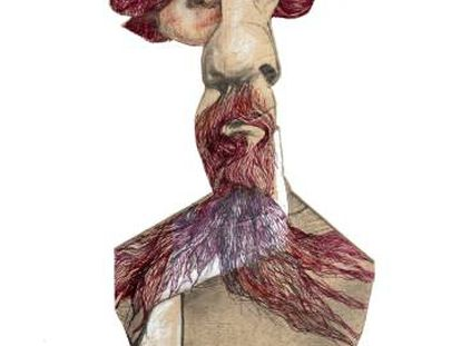 Charles Dickens, visto por Sciammarella.