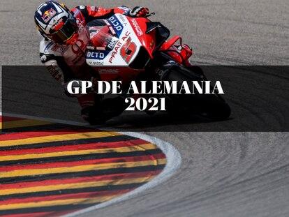 El piloto Johann Zarco, durante la jornada de clasificación del Mundial de motos 2021 del pasado sábado 19 de junio.
