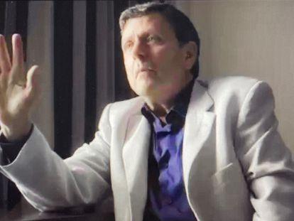 Eufemiano Fuentes, en la entrevista con Jordi Évole.