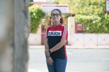 María Saugar, estudiante en Alcalá de Henares, está preocupada ante el regreso a las aulas porque no podrá hacer deporte como hasta ahora ni reunirse con su grupo Scout.
