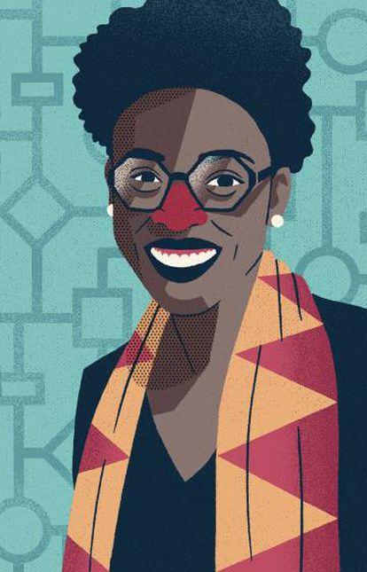 Joy Buolamwini ha denunciado e identificado los sesgos racistas de ciertos algoritmos que ella misma había sufrido.