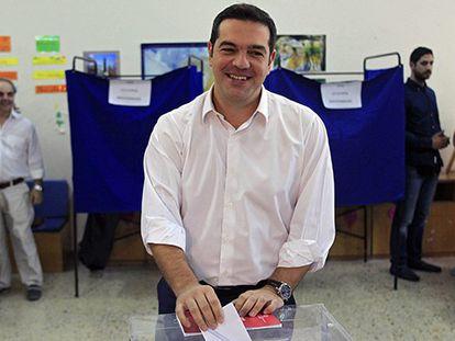 Syriza vuelve a ganar las elecciones en Grecia con una amplia ventaja
