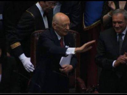 Napolitano da un ultimátum a los partidos políticos italianos