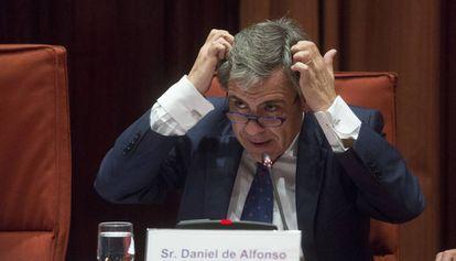 El exdirector de la Oficina Antifraude Daniel De Alfonso.